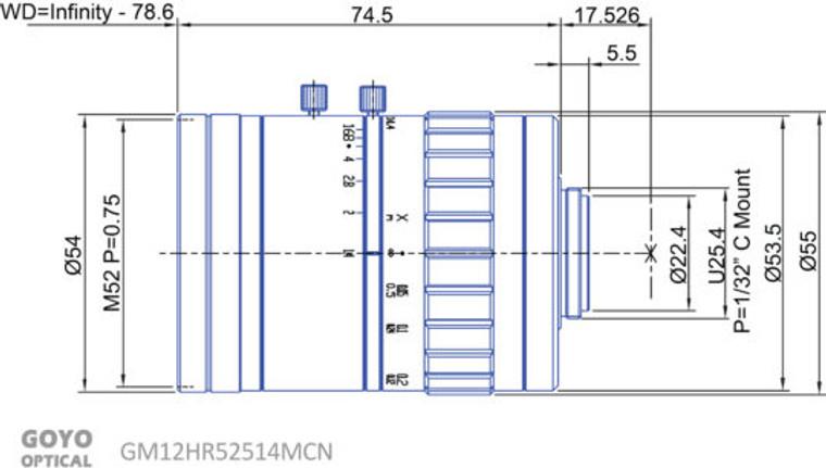 Goyo Optical GM12HR52514MCN