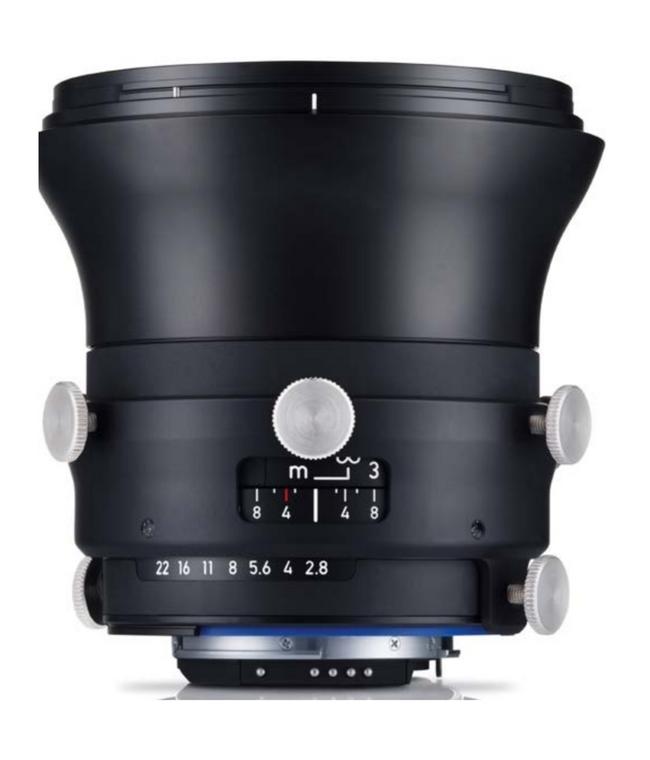 Zeiss Interlock 2.8/18 ZF.2 18mm F2.8 Manual Focus & Iris F-Mount Lens, 43.3mm Image Circle, 42 Megapixel Rated