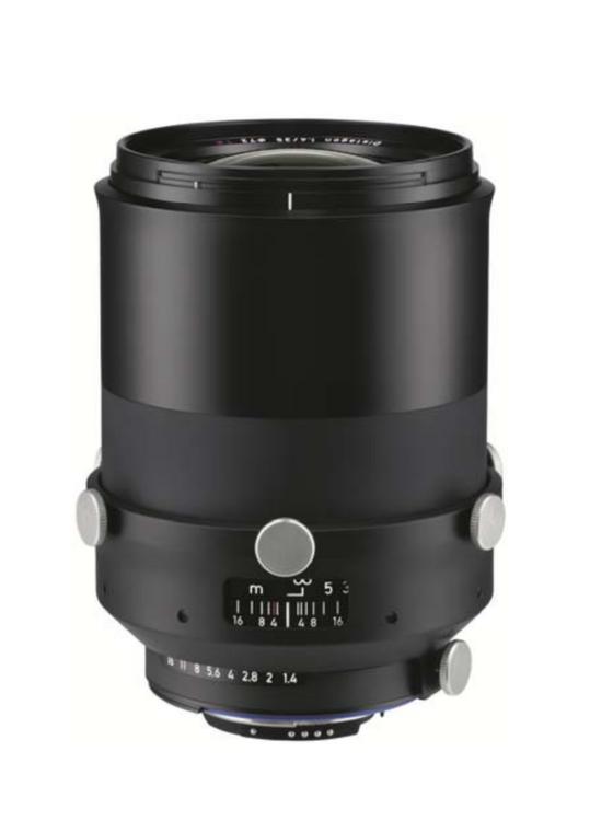 Zeiss Interlock 1.4/35 ZF.2 35mm F1.4 Manual Focus & Iris F-Mount Lens, 43.3mm Image Circle, 42 Megapixel Rated