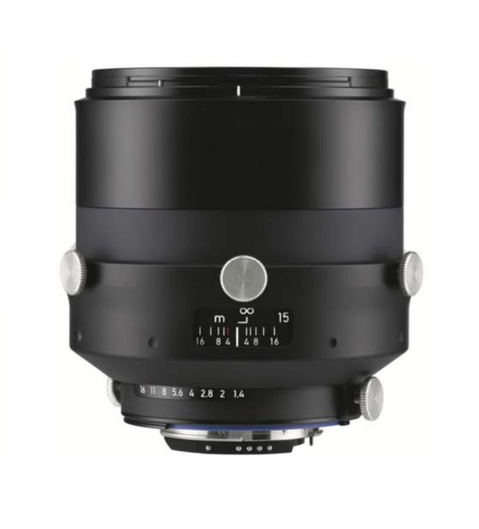 Zeiss Interlock 1.4/85 ZF.2  85mm F1.4 Manual Focus & Iris F-Mount Lens, 43.3mm Image Circle, 42 Megapixel Rated