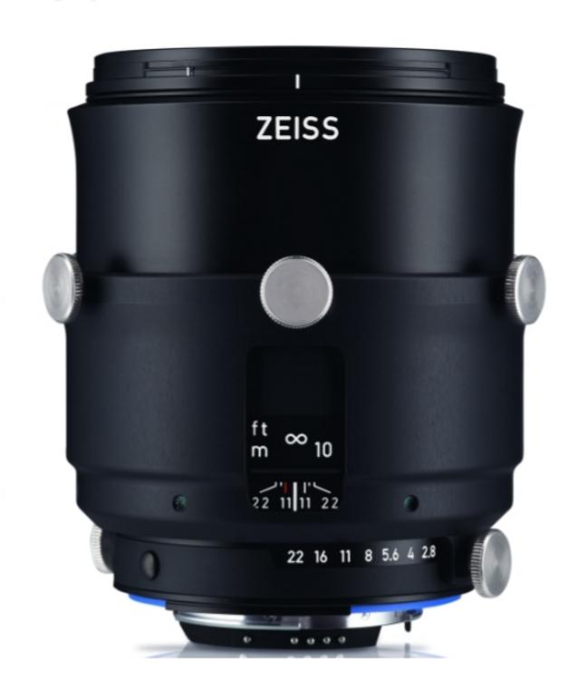 Zeiss Interlock 2/100 ZF.2 100mm F2.0 Manual Focus & Iris F-Mount Lens, 43.3mm Image Circle, 42 Megapixel Rated