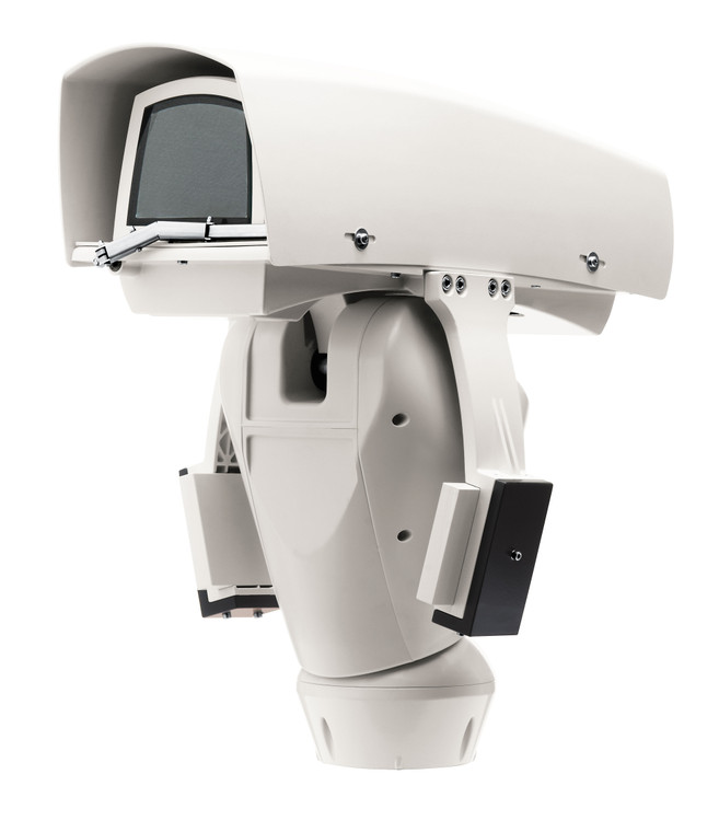 Videotec UPT2SLJAN00E ULISSE MAXI NETCAM IP Controlled Pan/Tilt with Housing for Network Camera, 24Vac, Wiper