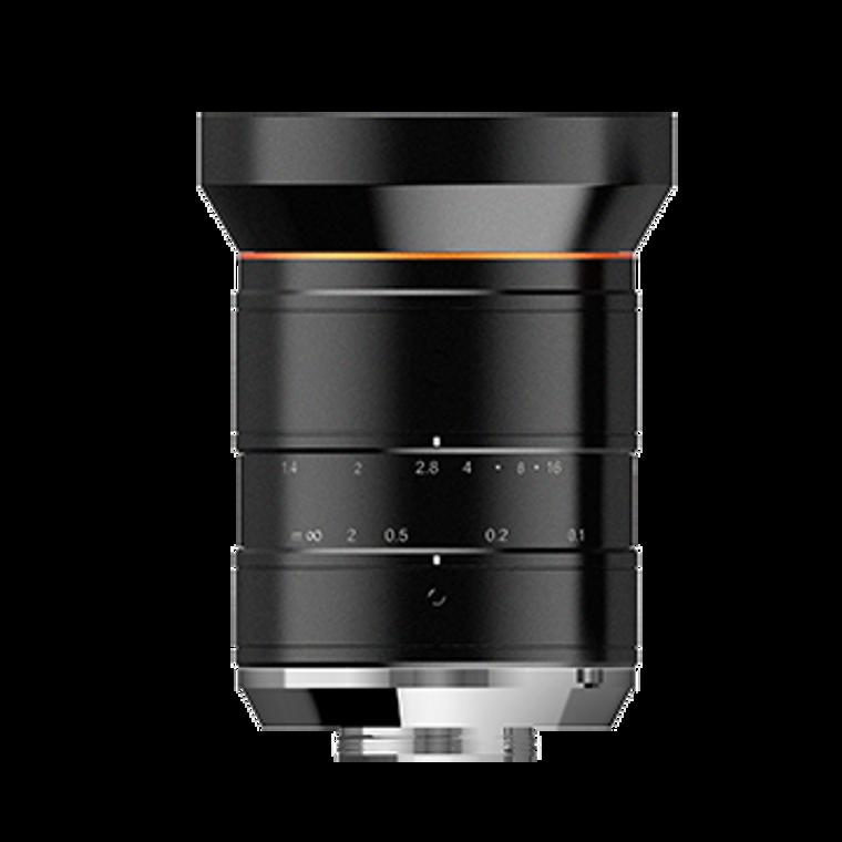 "HIKROBOT MVL-KF0814M-12MPE 1.1"" 8mm F1.4 Manual Iris C-Mount Lens, 12 Megapixel Rated, Angle (H x V): 84.8°x 68°, OP Distortion: 5.5%, Minimum Object Distance: 0.1m"