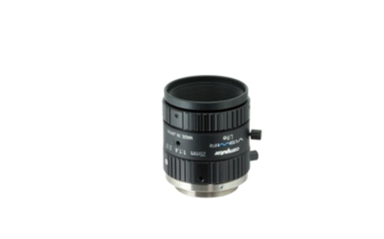 "Computar M2514-VSW 2/3"" 25mm F1.4 Manual Iris C-Mount Lens, Visiblet-Short Wave IR, Singleband Use, 6 Megapixel Rated"