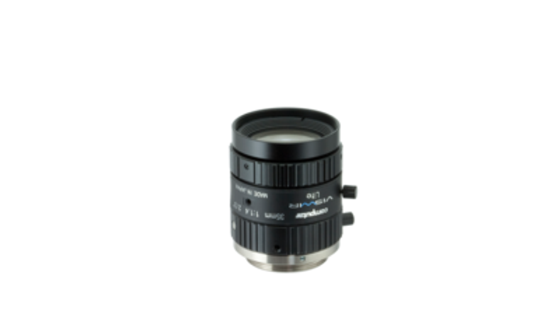 "Computar M3514-VSW 2/3"" 35mm F1.4 Manual Iris C-Mount Lens, Visiblet-Short Wave IR, Singleband Use, 6 Megapixel Rated"