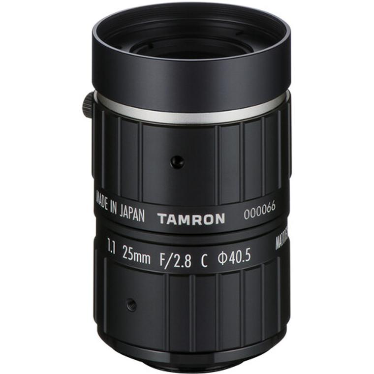 """Tamron MA111F25VIR 1.1"""" 25mm F2.8 Manual Iris C-Mount Lens, IR Corrected, 24 MP Rated"""