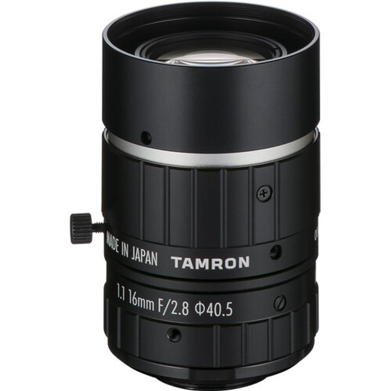 """Tamron MA111F50VIR 1.1"""" 50mm F2.8 Manual Iris C-Mount Lens, IR Corrected, 24 MP Rated"""