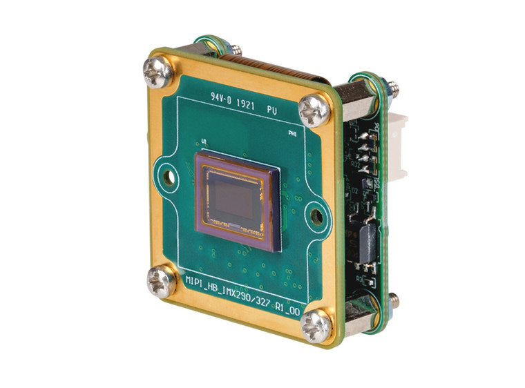 """The Imaging Source DMM 37CX296-ML 1/2.9"""" Progressive Scan Monochrome CMOS (IMX296) Board Camera, 1.6 Megapixels, 60 fps, FPD-Link III for Embedded Vision"""