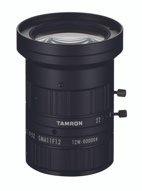 """Tamron SMA11FM12 1"""" 12mm F1.6 Manual Iris C-Mount Lens, Visible-SWIR (400-1700nm), Megapixel Rated"""