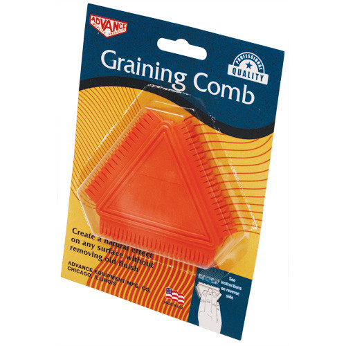 Advance 3-in-1 Graining Comb Triangle (ADVA-106)