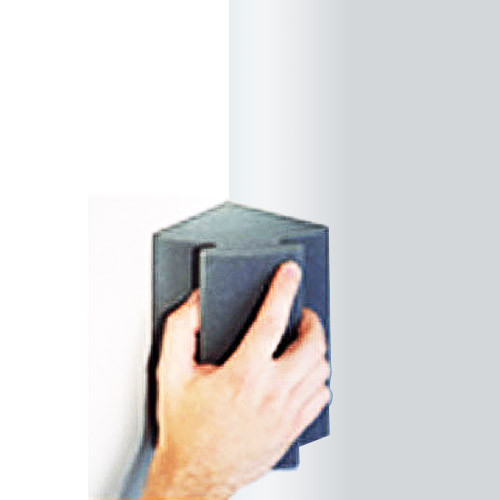 Norton Abrasives WallSand Corner Sponge, 3-3/4 x 7 x 4-1/2 in. Medium Grit (NORN-01715)
