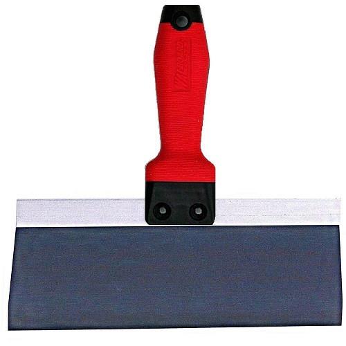 Wal-Board 10 in. x 3 in. Tuff-Grip Handle Blue Steel Taping Knife TG-10 (WALB-18-030)