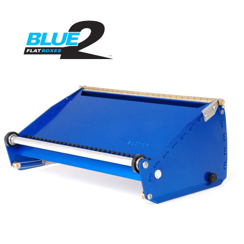 Blue Line USA Blue 2 Big Mouth Flat Boxes (BLUE-F, FB08, FB10, FB12)