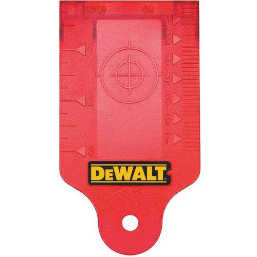 DeWalt DW0730 Laser Target Card (DEWA-DW0730)