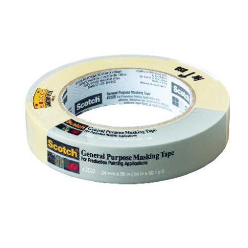3M 1 1/2 in. General Purpose Masking Tape 2020 (3M-2020-15A)