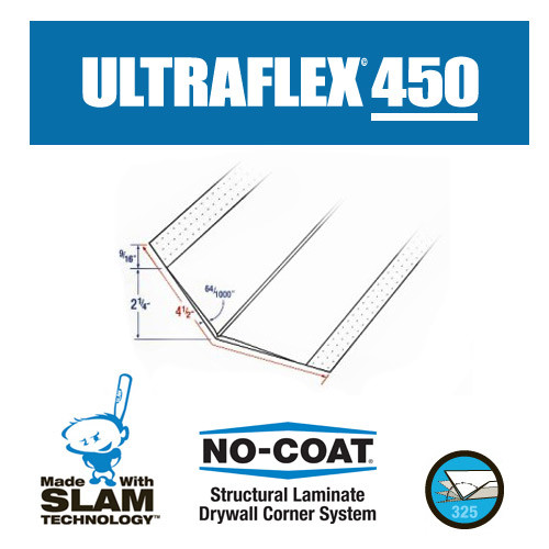 No-Coat Ultra Flex 450 4.5 in.  x 100 ft. Roll (GRAB-ULT450)
