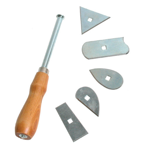 Marshalltown Molding Scraper with 7 Interchangeable Blades (MARS-E9483)