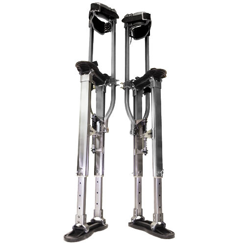 "SurPro S2 Interlok ""Dually"" Aluminum Drywall Stilts 15-23 in. (SURP-S2-1523AP)"