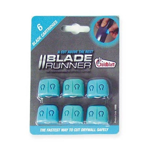 Goldblatt 6 Pack Blade Runner  Replacement Blades