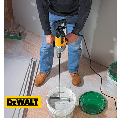 DeWalt 1/2 in. Spade Handle Drywall Mud Mixing Drill (DW130V)