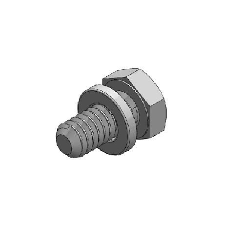 "Dura-Stilts III 1/4-20x1/2"" Mach Bolt (DURA-24)"