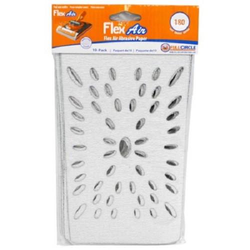 Full Circle 180 Grit Flex Air Stearated Sandpaper Sheet for Flex Air - 10 pack (FULL-FLEXAIR 180)