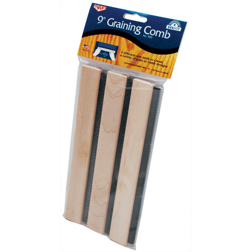 "Advance 9"" Graining Comb Set - Fine, Med, Coarse (ADVA-903)"