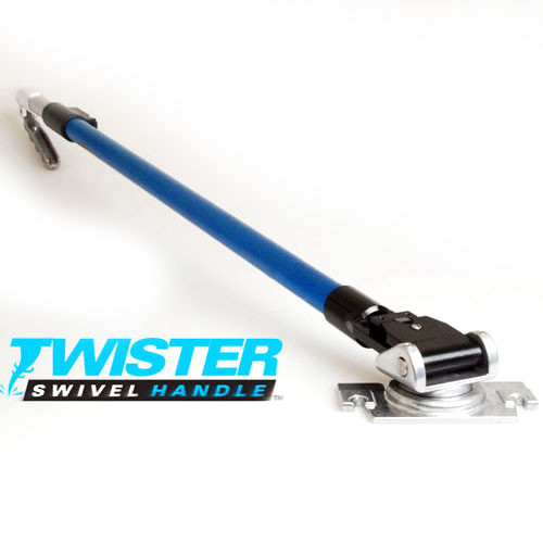 Blue Line USA Twister™ Flat Box Handle (BLUE-FHX-T)