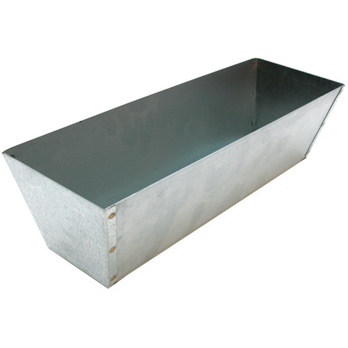 "Marshalltown 12""  Galvanized Steel Mud Pan (MARS-813)"