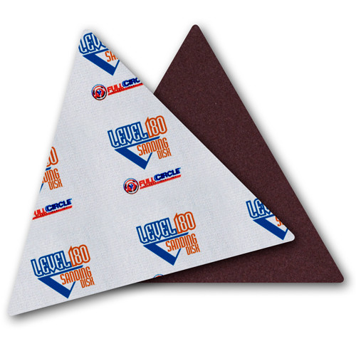 Full Circle 100 Grit Level 180 Sandpaper Triangles/Trigon Sandpaper 5-Pack (FULL-TG100)