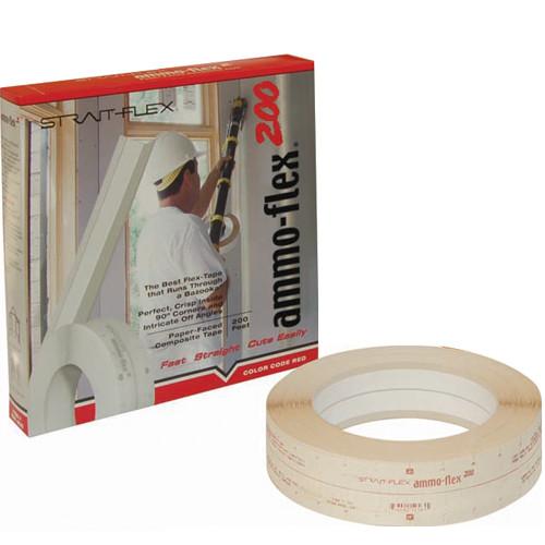 StraitFlex Ammo-Flex 200 Paper-Faced Composite Tape - 200 Rl (STRA-AMF-200-S)