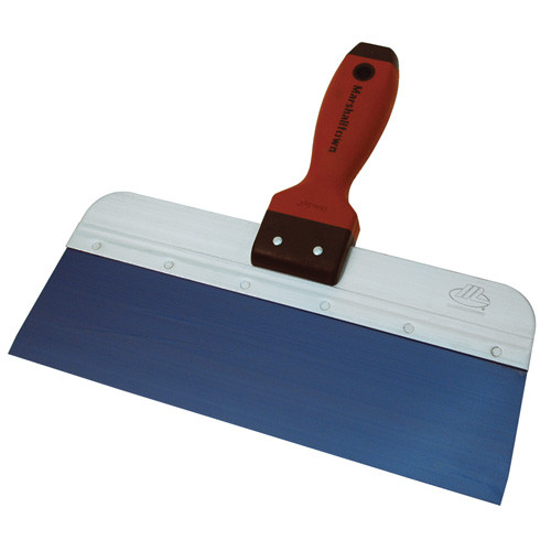 "Marshalltown 12"" Blue Steel Taping Knife w/DuraSoft Handle (MARS-3512D)"
