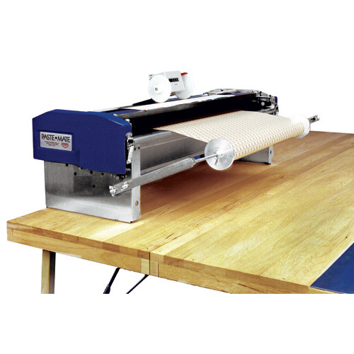 Advance 30 in. Heavy Duty Table Top Pasting Machine (Model 50301) comes with Two-Wheel Measuring Counter (This is a special order item and ships 4 weeks of order)