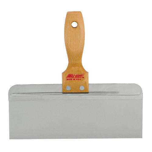 Wal-Board 10 in. x 3 in. Hardwood Handle Stainless Steel Taping Knife SK-10 (WALB-20-002)