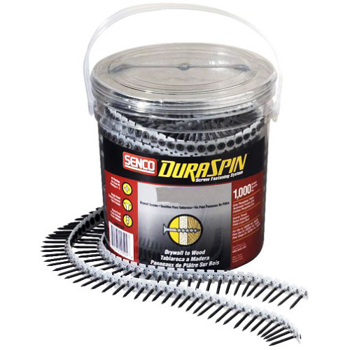 Senco Duraspin 6 x 1 5/8 in. #2 Collated Drywall Screws 1000 Pk (SENC-06A162P)