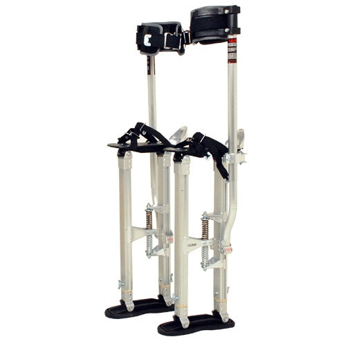 SurPro Interlok Aluminum Drywall Stilts, Adjustable Height 15-23 in. (SURP-SS1523AP)
