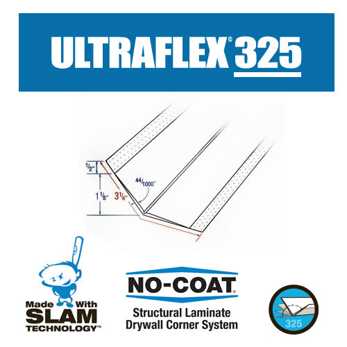 No-Coat Ultra Flex 325 3.25 in. x 100 ft. Roll (GRAB-ULT325)