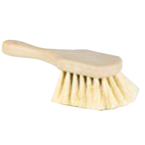 Plastic Scrub Brush - Short Handle (DQBI-11648)