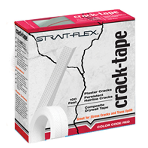 StraitFlex Crack-Tape Composite Tape - 100 Rl, Case of 12 Rolls (STRA-CT-100-C)