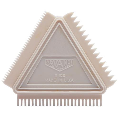 Advance 3-in-1 Graining Comb, Triangle (ADVA-102)