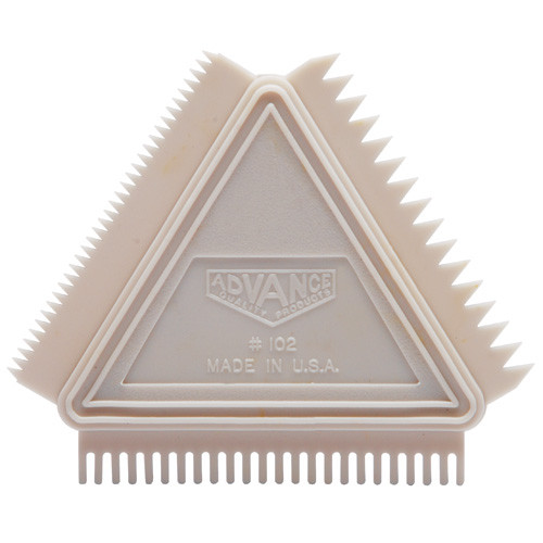 Advance 3-in-1 Graining Comb, Triangle (ADVA-102)