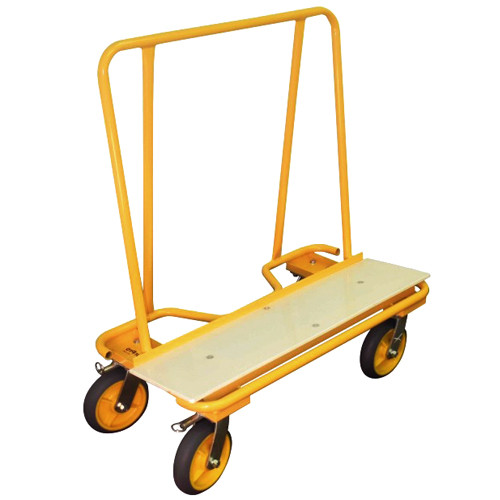 SurPro Residential Drywall Dolly w/ Skid Plate & Non-Marking Casters, 2 swivel, 2 locking (SURP-DOR02)