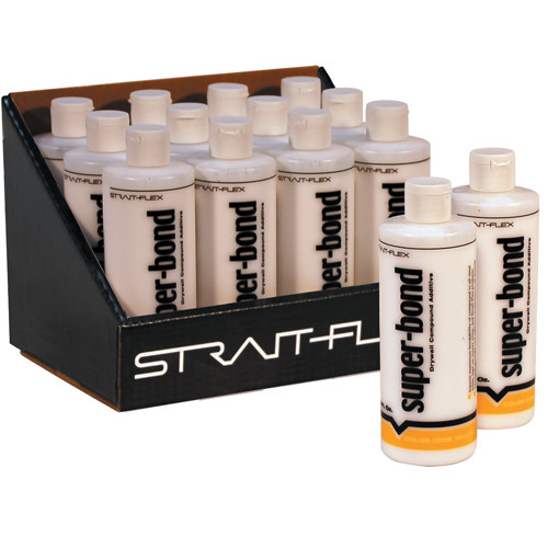 StraitFlex Super-Bond Drywall Compound Additive - Case of 12 Bottles (STRA-SB-12-C)