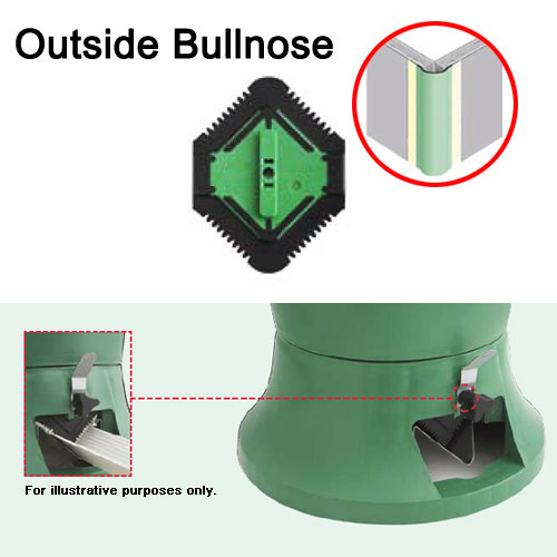 USG Sheetrock Hopper Gate - Outside Bullnose Corner Bead (USG-340316)