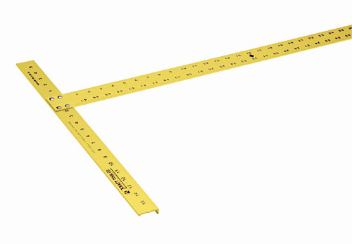 "Kraft 54"" x 3/16"" High Visibility Drywall T-Square (KRAF-DW226)"