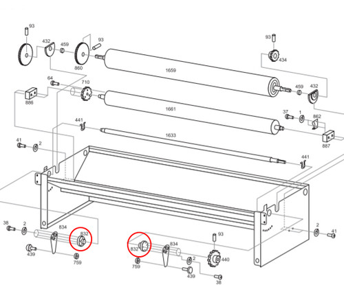 Advance 832 Adjusting Lever Bushing (ADVA-A832)