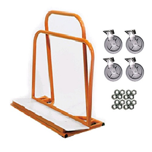 Adapa Residential Drywall Dolly w/ Non-Marking Casters, 4 swivel (ADAP-DOLLY)