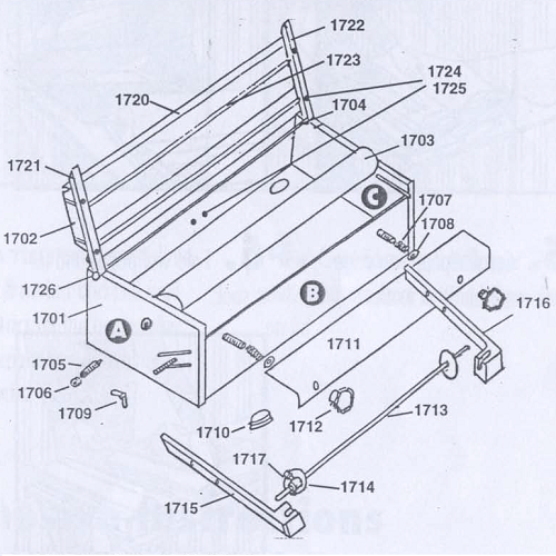 Advance A1723 Quikpaster Lid Roller (ADVA-A1723)