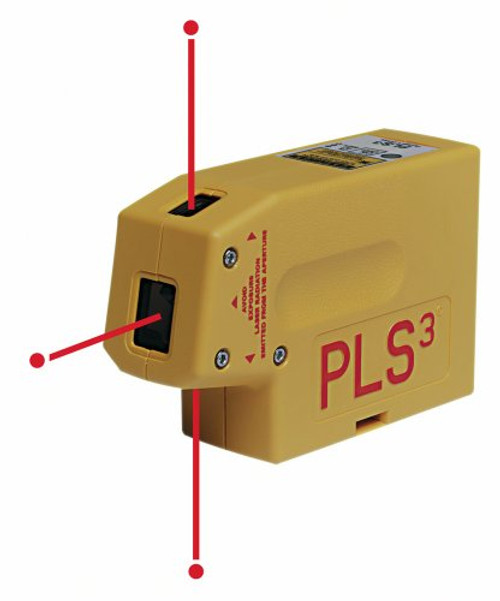 Pacific Laser Systems PLS3 Level & Plumb Laser Level (PACI-PLS3)