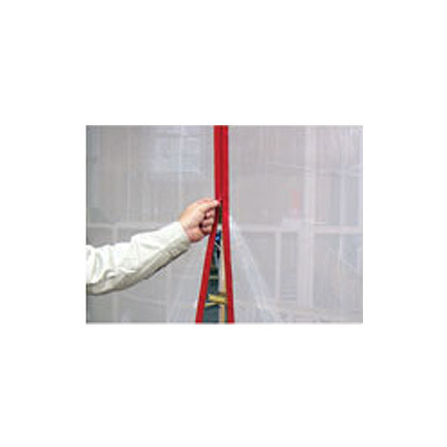 Surface Shields 1.5 in. x 7 ft. ZIP N CLOSE Peel and Stick Zipper - 2 Pack - Red (SURF-ZA02)